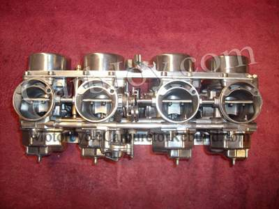 motorcycle carburetor rebuilding